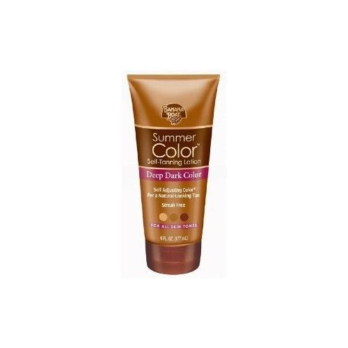 Banana Boat Summer Color Sunless Tinted Lotion, 6 Fluid Ounces