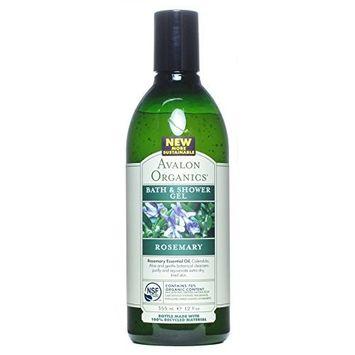 (3 PACK) - Avalon - Rosemary Bath & Shower Gel   350ml   3 PACK BUNDLE : Beauty