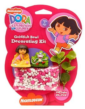 Dora The Explorer Dora Betta Gold Fish Bowel Decorating Kit
