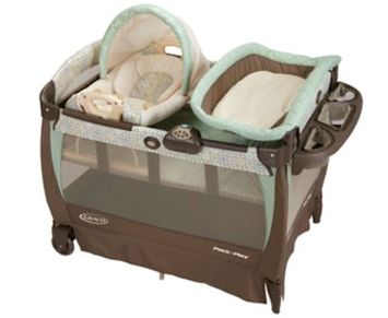 Graco Pack 'n Play® Cuddle Cove™ Playard with Rocking Seat