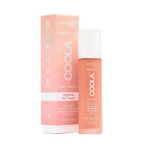 COOLA Organic Suncare Collection Rosilliance Mineral BB+ Cream Tinted Organic Sunscreen SPF 30