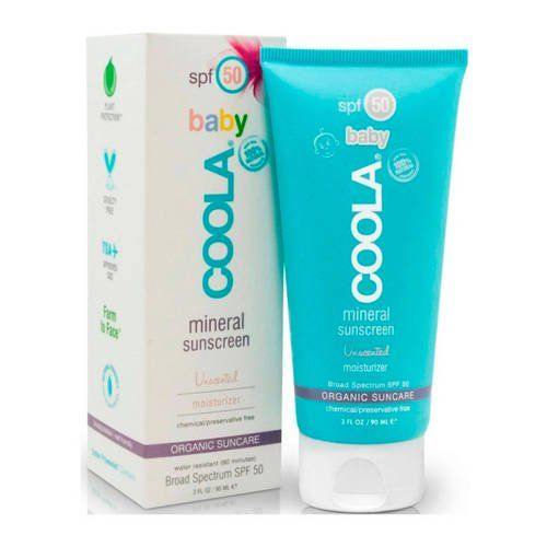 COOLA Organic Suncare Collection Mineral Baby Organic Sunscreen Lotion SPF 50