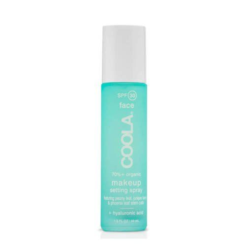 COOLA Organic Suncare Collection Makeup Setting Spray Organic Sunscreen SPF 30