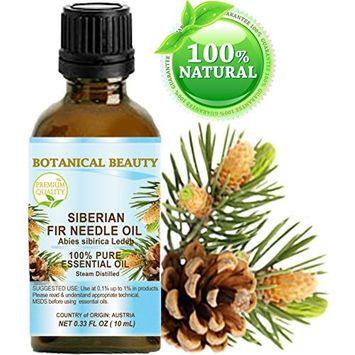 FIR NEEDLE ESSENTIAL OIL ( SIBERIAN ). 100% Pure Therapeutic Grade, Premium Quality, Undiluted. 0.33 Fl.oz.- 10 ml