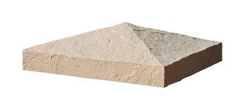 Faux Polyurethane Stone Post Cover Cap