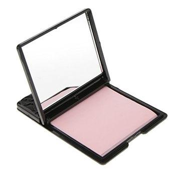 MagiDeal Face Oil Control Film Absorbing Tissue Makeup Blotting Paper W/Rose Flower Mirror Box