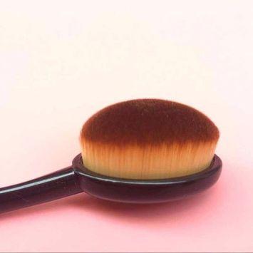 Makeup Brush, Tonsee 5PC/Set Toothbrush Style Eyebrow Brush Foundation Eyeliner Makeup Brushes