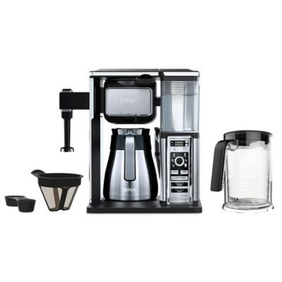 Ninja Coffee Bar™ 50 oz. Stainless Steel Brewer System in Black