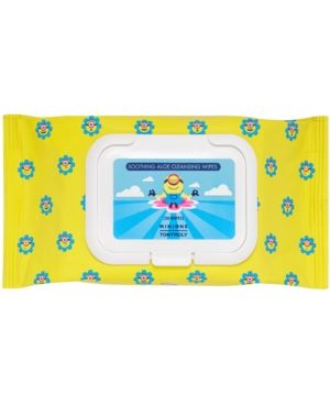 Tonymoly Minions Soothing Aloe Cleansing Wipes, 30 ct.