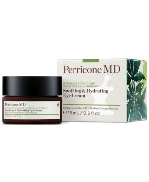 Perricone Md Hypoallergenic Cbd Sensitive Skin Therapy Soothing & Hydrating Eye Cream, 0.5-oz.