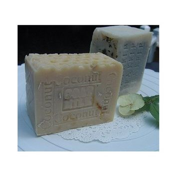 Goat's Milk and Organic Coconut Milk Natural Soap Bar-Large Aged 12 oz. Bar Limited Edition All (Natural Milk Soap )