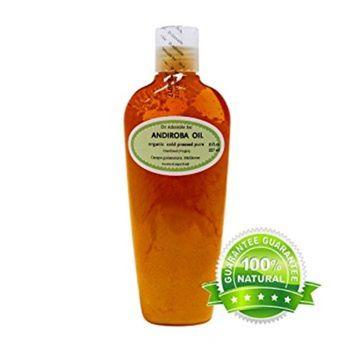 Dr. Adorable - 100% Pure Andiroba Oil Organic Cold Pressed Unrefined Virgin Natural Hair Skin Care - 8 oz