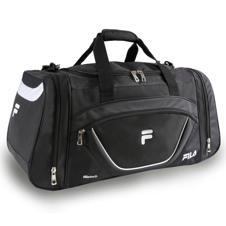 Fila® Acer Duffel Bag, Black