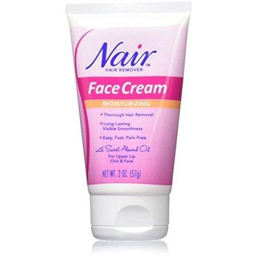 Moisturizing Face Cream For Upper Lip Chin And Fac Nair 2 oz by Nair