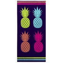 Serviette de plage Modele Ananas Cool