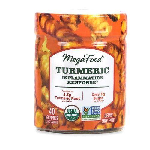 Turmeric Inflammation Response Gummies Turmeric Spice Megafood 40 Gummy