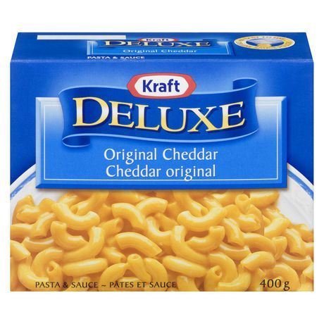 Kraft Deluxe Original Cheddar Pasta & Sauce