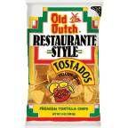Old Dutch Restaurante Style Yellow Corn Tostados Tortilla Chips 13 oz. Bag