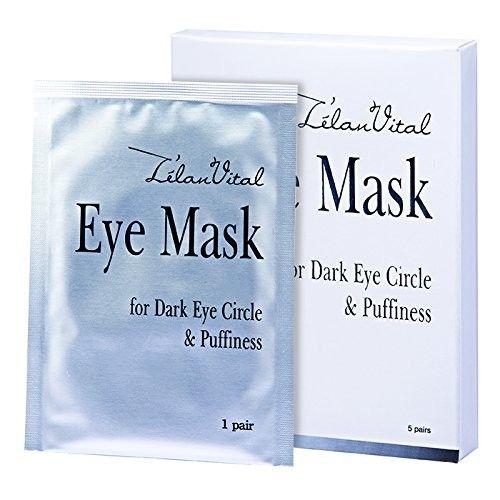 15 x Cosway L'elan Vital Eye Mask For Dark Eye Circle & Puffiness (5 Packs Per Set)