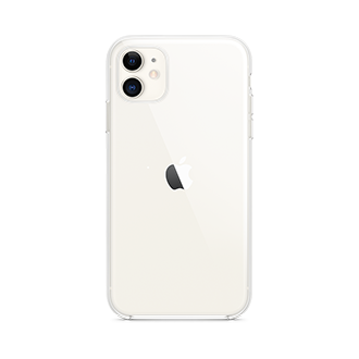 Apple Clear Case for Apple iPhone 11