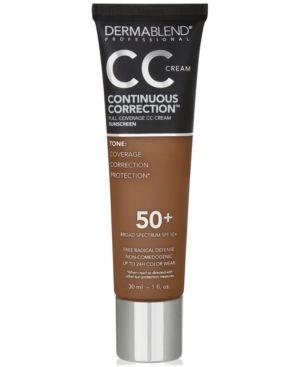 Dermablend Continuous Correction Cc Cream Spf 50+