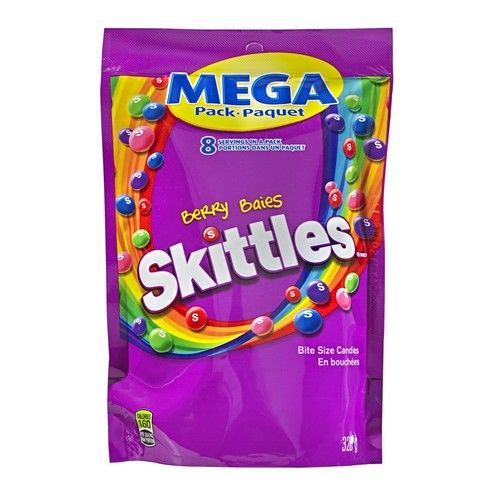 Skittles Berry, Mega-Pack, 320gm/11.28oz, Purple