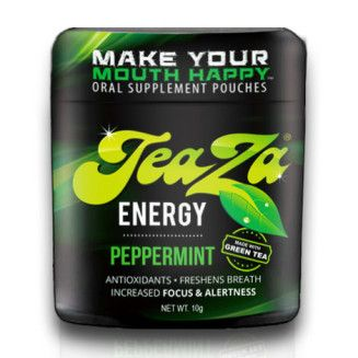 Teaza Energy Teaza Herbal Energy Pouch Peppermint - 8 Pack