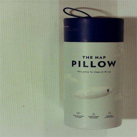 nap travel pillow white casper