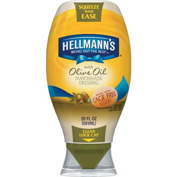 Hellmann's Squeeze Mayonnaise Dressing with Olive Oil 20 oz
