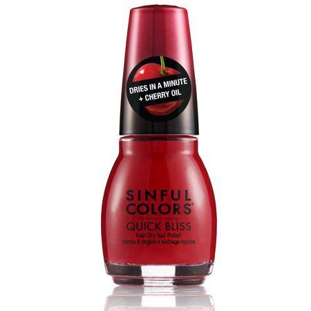 Sinful Colors Quick Bliss Nail Polish - Sweet Cheeks