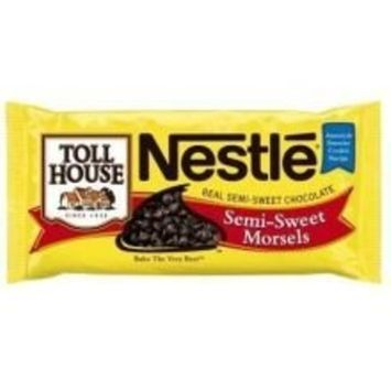 Nestle Toll House Semi Sweet Chocolate Morsel, 25 Pound - 1 each.