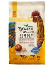 Beyond Simply White Meat Chicken & Whole Oat Meal Recipe Dry Cat Food
