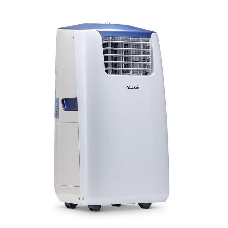 NewAir Portable Air Conditioner and Heater, 14,000 BTUs (8,600 BTU, DOE), Cools 525 sq. ft.