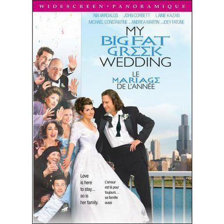 My Big Fat Greek Wedding (dvd, 2009, Canadian Bilingual) Fullscreen