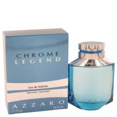 Chrome Legend Cologne By Azzaro Eau De Toilette Spray 2.6 oz