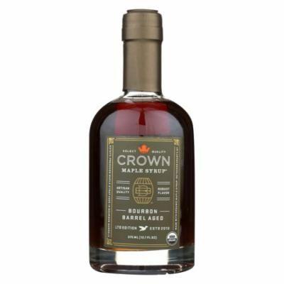Crown Maple Syrup - Bourbon Barrel Aged - Case Of 6 - 12.7 Fl Oz.