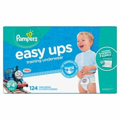 Pampers Easy Ups Training Underwear for Boys 3T-4T (30-40 lbs.) 124 ct