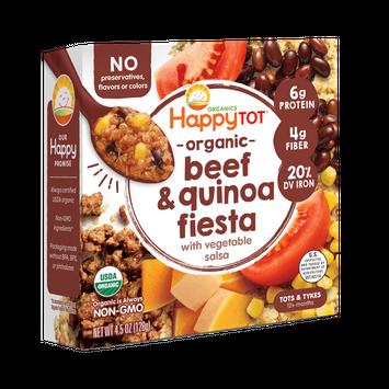 Happy Tot® Organics Beef & Quinoa Fiesta with Vegetable Salsa Bowl