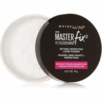 4 Pack - Maybelline Facestudio Master Fix Setting + Perfecting Loose Powder, Translucent 0.21 oz