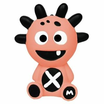 The Mibbler 100% Natural Rubber Teething Toy Coral