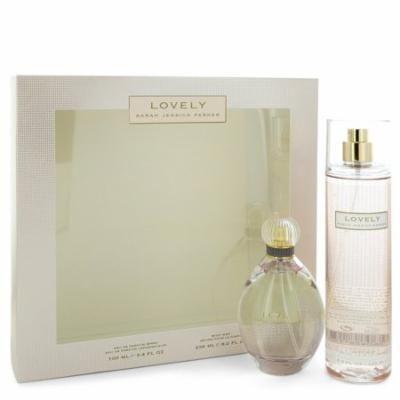 Lovely Perfume By Sarah Jessica Parker Gift Set - 3.4 oz Eau De Parfum Spray + 8 oz Body Mist