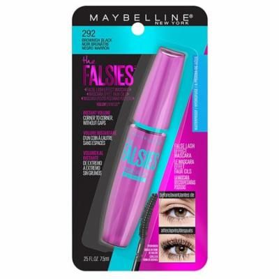 Pack of 4-Maybelline The Falsies Waterproof Mascara Makeup, Brownish Black0.25 fl oz