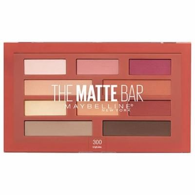 Pack of 3-Maybelline The Matte Bar Eyeshadow Palette Makeup 3000.34 oz