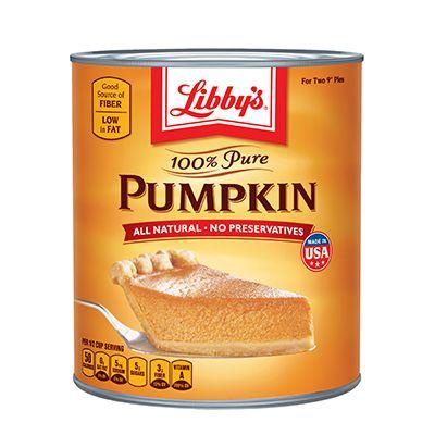 LIBBY'S® 100% Pure Pumpkin 29 oz.