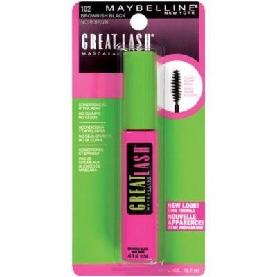 Pack of 3-Maybelline Great Lash Washable Mascara, Brownish Black0.43 fl oz