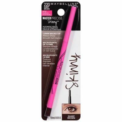 Maybelline Master Precise Skinny Gel Eyeliner Pencil,Sharp Brown0.01 oz