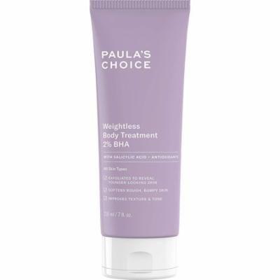 Weightless Body Treatment 2% BHA,7 oz Tube, Gentle Salicylic Acid Body Exfoliator Paula's Choice - 7 Ounces