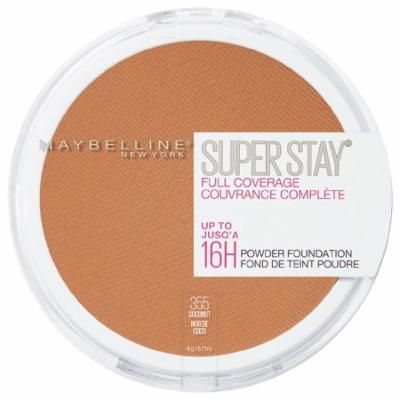 Maybelline SuperStay Full Coverage Powder Foundation Makeup, Coconut0.21 oz