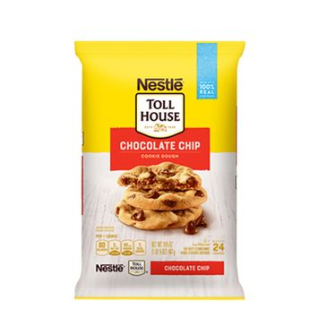NESTLÉ® TOLL HOUSE® Refrigerated Chocolate Chip Cookie Bar Dough