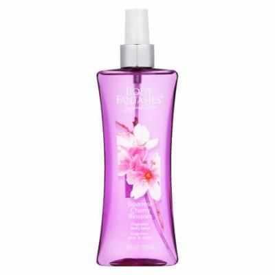Body Fantasies Signature Japanese Cherry Blossom Perfume By Parfums De Coeur Body Spray 8 oz